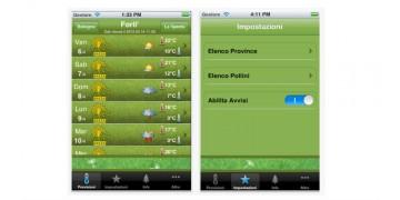 Meteo Pollini: una applicazione per condividere sintomi e allergie