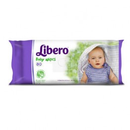 Libero Wet Wipes 64pz 4360