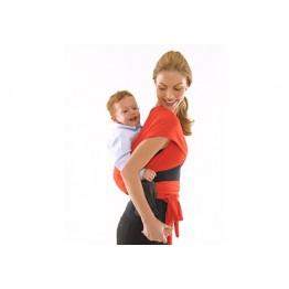Fascia porta bambino lunga Baby wrap Rossa