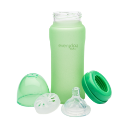 Everyday Baby Biberon Glass  300 Ml Verde L 6+