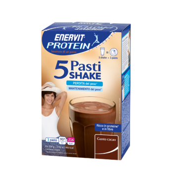 Enervit Protein Frappe Cacao 5bu