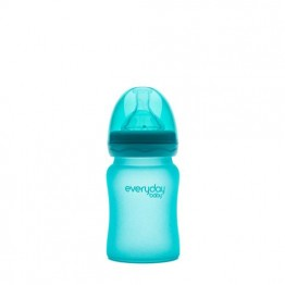 Everyday Baby Biberon Glass S 150 ml 0+ turchese