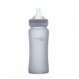Everyday Baby Biberon Glass 300 Ml Bleu L 6+