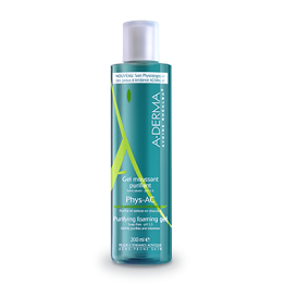 Aderma Phys-ac Gel Detergente Pelle/Grassa 200 ml
