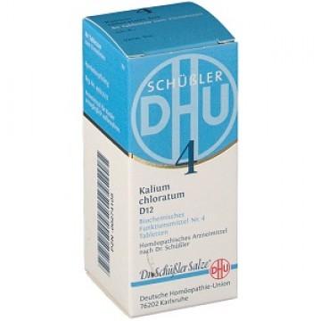 Dr. Schussler Sali 4 Kalium chloratum 12dh 200cpr