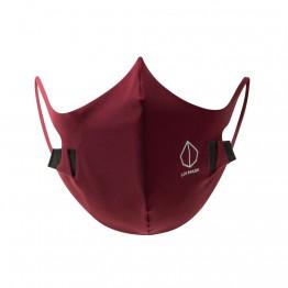 Liv Mask M2 Mascherina antibatterica riutilizzabile rossa Cherry