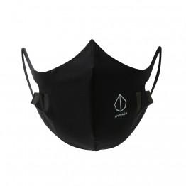 Liv Mask M2 Mascherina antibatterica riutilizzabile nera Noir