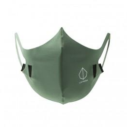 Liv Mask M2 Mascherina antibatterica riutilizzabile verde Olive