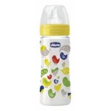 Chicco Biberon polipropilene Sil 330 ml Iro Pap