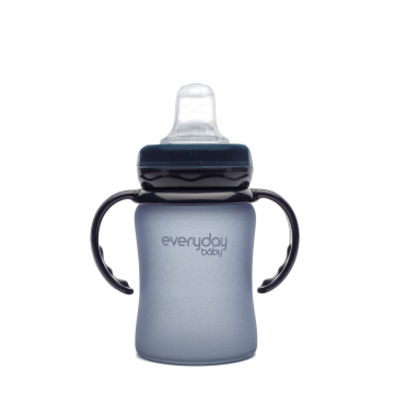 Everyday Baby Glass Sippy Cup 6+ blu