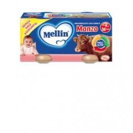 Mellin Omog Manzo 4x80g