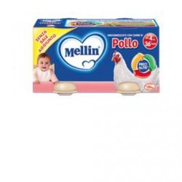 Mellin Omog Pollo 4x80g