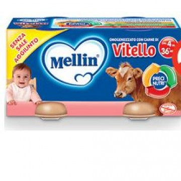 Mellin Omog Vitello 4x80g