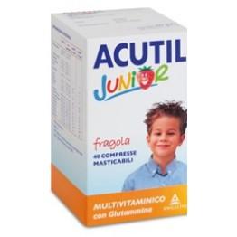 Acutil Multivit J Fragola40cpr