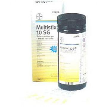 Multistix 10sg 25str 2292c
