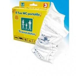 Traveljohn Dispo Urinale 3pz