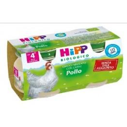 Hipp Bio Omog Pollo 80g 2pz
