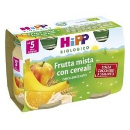 Hipp Bio Omog Frutta/crl2x125g