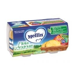 Mellin Omog Mela/ananas 2x100g
