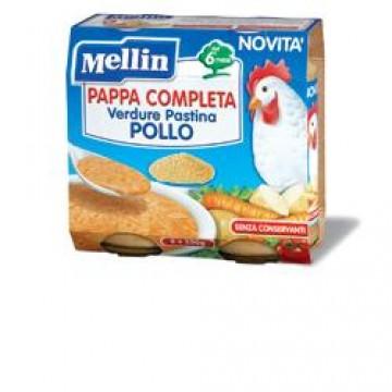 Mellin Pappa Compl Pollo2x250g