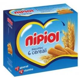 Nipiol Biscottini 6cereali 800