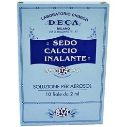 Sedo Calcio Inalante 10f 2ml
