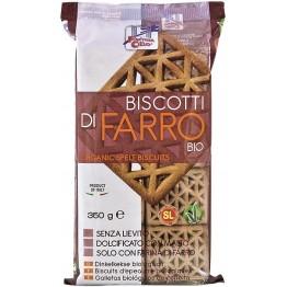 Biscotti Farro S/liev Bio 350g