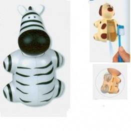 Supporto Spazzolino Funny Animals Zebra