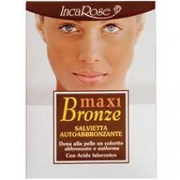 Incarose Maxi Bronze 7 salviette Autoabbronzante