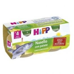 Hipp Omog Nasello/patate 80g