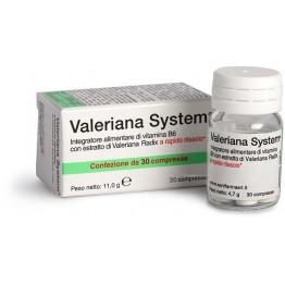 Valeriana System 30cpr