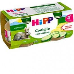 Hipp Omog Coniglio 80g 2pz