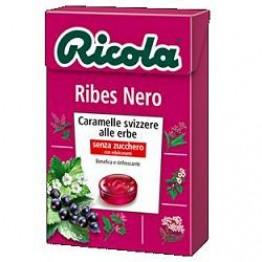 Ricola Ribes Nero S/zucch 50g