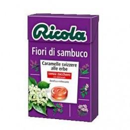 Ricola Fiori Sambuco S/zuc 50g