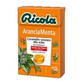 Ricola Ara Menta S/zucch 50g