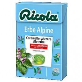 Ricola Caram Erbe Alpine 50g