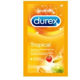 Durex Tropical Easy-On 6pz