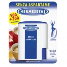 Hermesetas S/aspart 500+200cpr