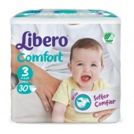Libero Comfort Pannolini  3 30pz