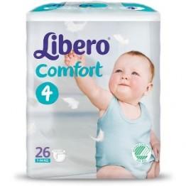 Libero Comfort Pannolini 4 26pz