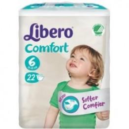Libero Comfort Pannolini 6 22pz