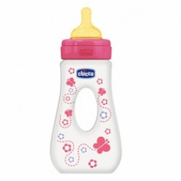 Chicco Biberon Passeg 240 ml Girl Cau