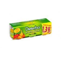 Dieterba Omog Frutta Mis 3x80g