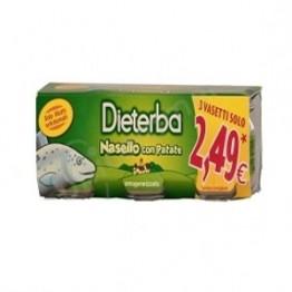 Dieterba Omog Nasello 3pz 80g