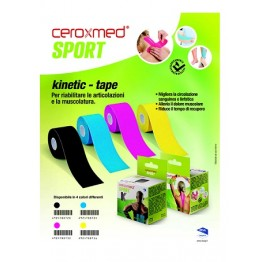 Ceroxmed Sport Kinetic Tape Bl