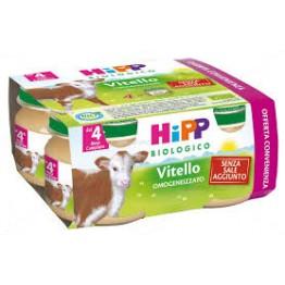 Hipp Bio Omog Vitello 80g 4pz