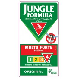 Jungle Formula Molto Forte Spray Anti-Zanzare