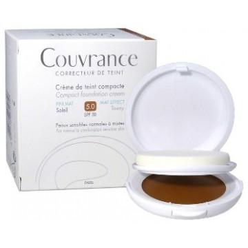 Avene Couvrance Crema Compatta Oil-Free Sole 5 Anti-Imperfezioni