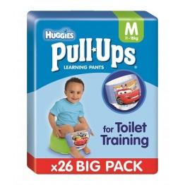 Huggies Pull Ups Boy 12/18 26p