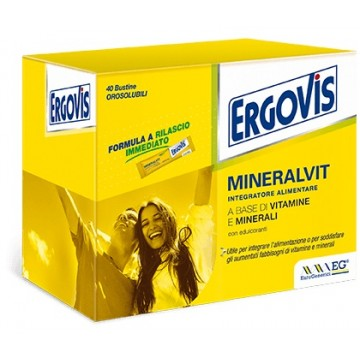 Ergovis Mineralvit 40bust